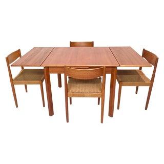 1960s Danish Mid-Century Modern Teak Dining Set