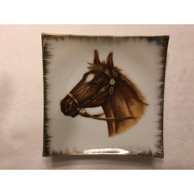 Vintage Empress China Horse Head Dishes - Pair - Image 6 of 9