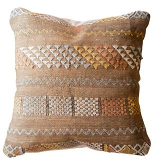 Cactus Silk Throw Pillow