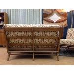 Image of Heywood-Wakefield 3 Piece Steamline Sofa Set