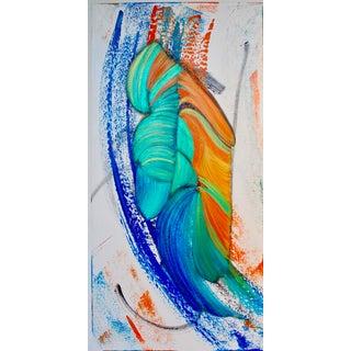 'Future Native' Acrylic Painting