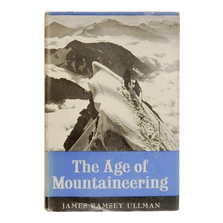 """The Age of Mountaineering"" 1954 Book"