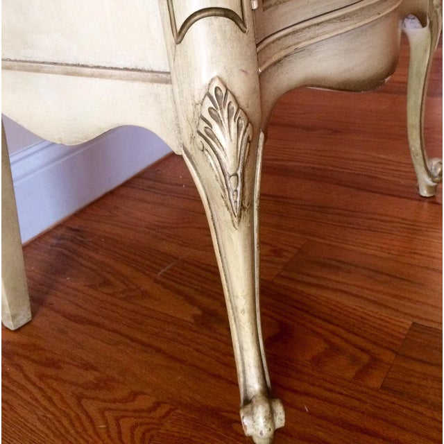 French Provincial Nightstand - Image 3 of 8
