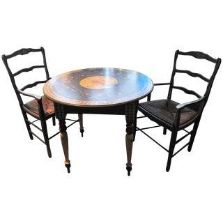 Persian Blue Breakfast Dining Set