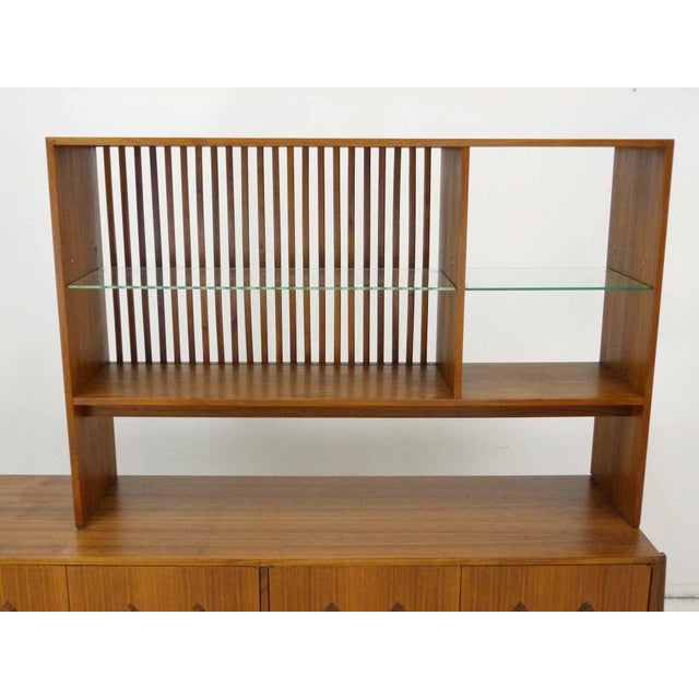 Kipp Stewart for Calvin Furniture Teak & Rosewood Inlay Sideboard - Image 5 of 11
