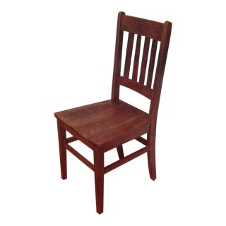 Vintage Shaker Wooden Chair