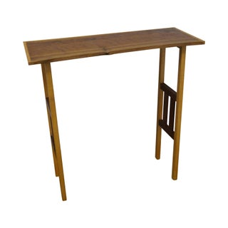 Studio Made Walnut Free Form Console Table