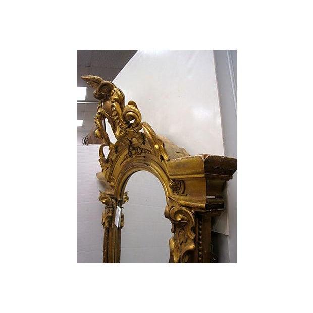 19th C. Gold Gilt Pier Mirror - Image 7 of 7
