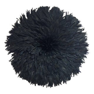 Authentic Cameroon Black Juju Hat