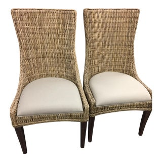 New Wicker Greco Dining Chairs - Set of 2