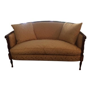 Hickory Chair Loveseat & Fabric