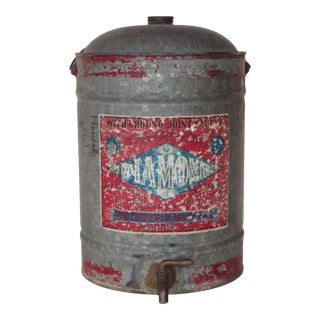 Antique Americana Advertising Oil Can