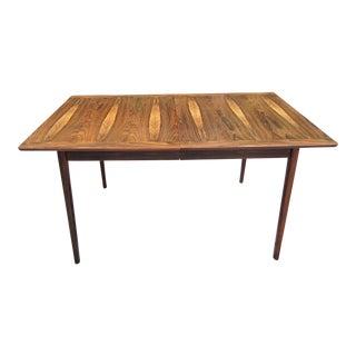 Westnofa Norway Mid-Century Brazilian Rosewood Dining Table
