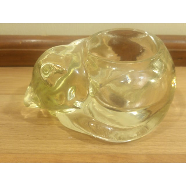 Image of Clear Glass Animal Candle Holders - Set of 3
