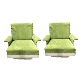 French Mid-Century Modern Chairs - A Pair