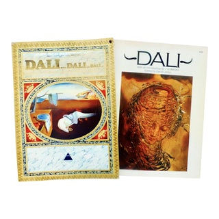 Salvador Dali Art Books - A Pair
