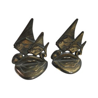 Fish Bookends - A Pair