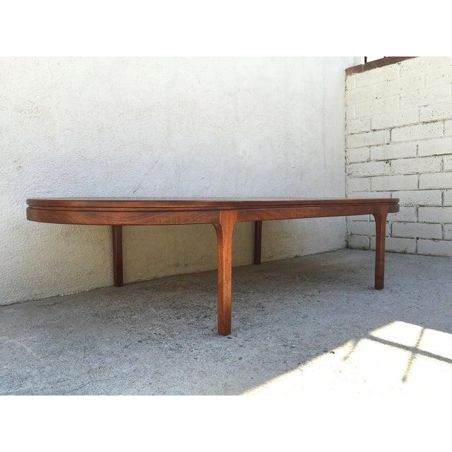 Mid-Century Walnut Coffee Table - Image 3 of 11