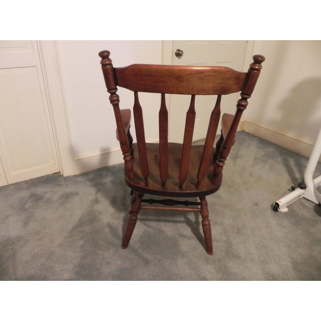 Ethan Allen Windsor Arm Chair - Image 3 of 4