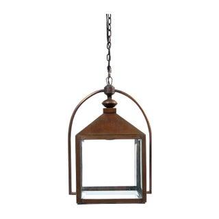 Vintage Copper Pendant Lantern