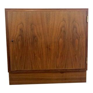 Mid-Century Walnut Cabinet