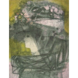 """""""Chapeau Rose"""" Lithograph by Hector Poleo"""