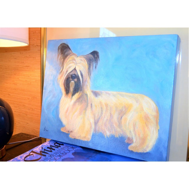 Yorkshire / Skye Terrier Acrylic Painting - Image 7 of 10