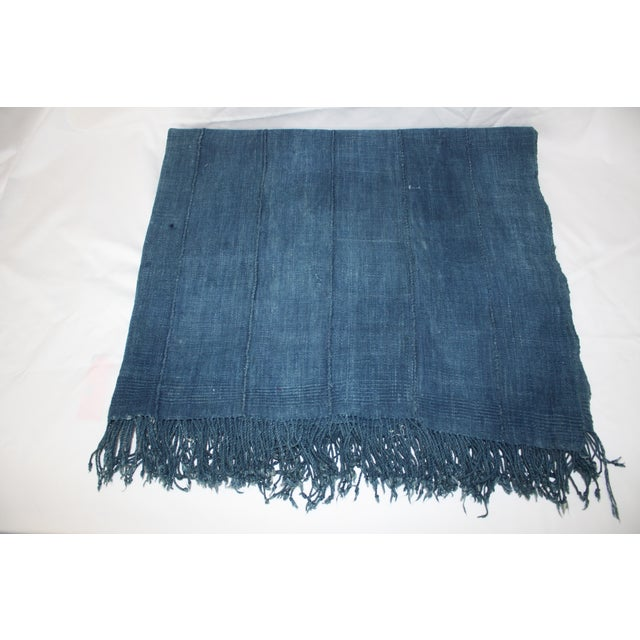 Vintage Mossi Indigo Throw/Textile - Image 4 of 5