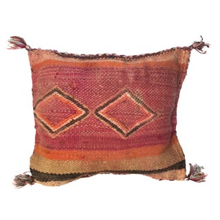 Moroccan Berber Kilim Wool Pillow