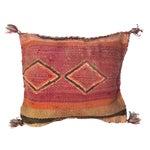 Image of Moroccan Berber Kilim Wool Pillow