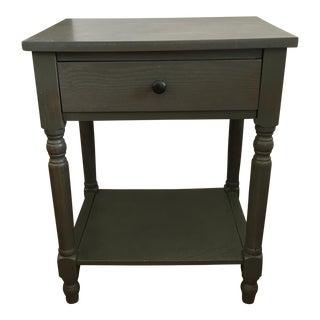 Vintage Slate Bedside Table