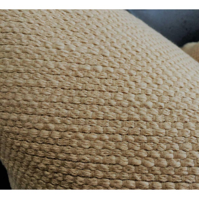 Natural Linen Pillows - a Pair - Image 4 of 5