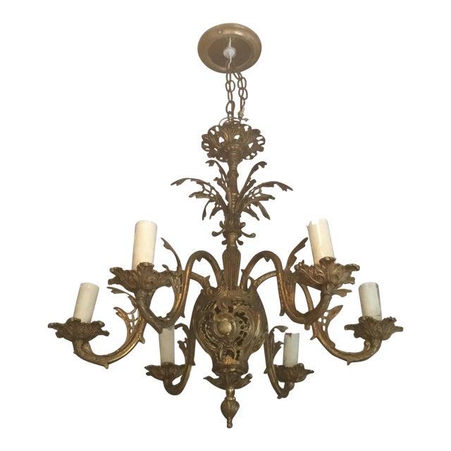 Rococo Revival Chandelier - Image 1 of 6