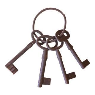 Antique Skeleton Key Set