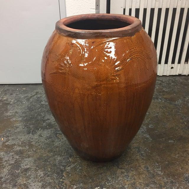 Large Glazed Finish Pottery - Image 2 of 9