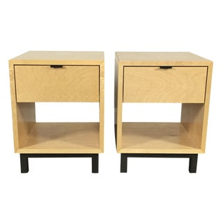 Room & Board Maple Nightstands - A Pair