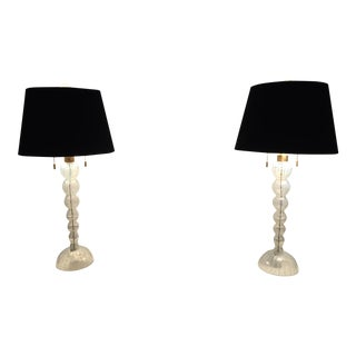 Donghia Venetian Glass Table Lamps