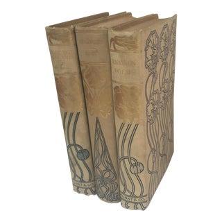 1900's Hurst & Co Books - Set of 3