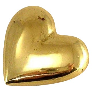 Paperweight Heart by Carl Aubock