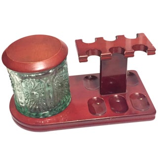 Pipe Rack and Tobacco Holder