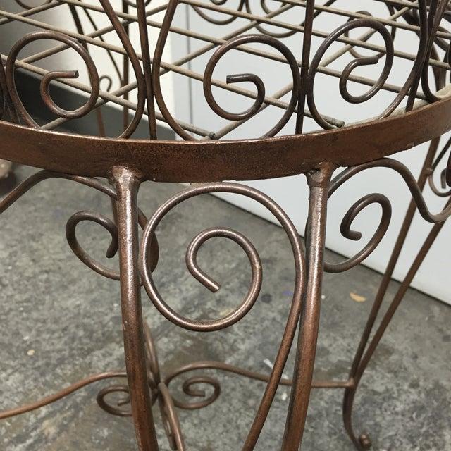 Decorative Iron Bird Cage - Image 6 of 10