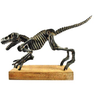 Cast Iron T-Rex Sculpture