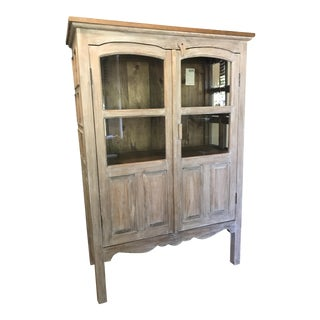 Farmhouse Style Cabinet Hutch