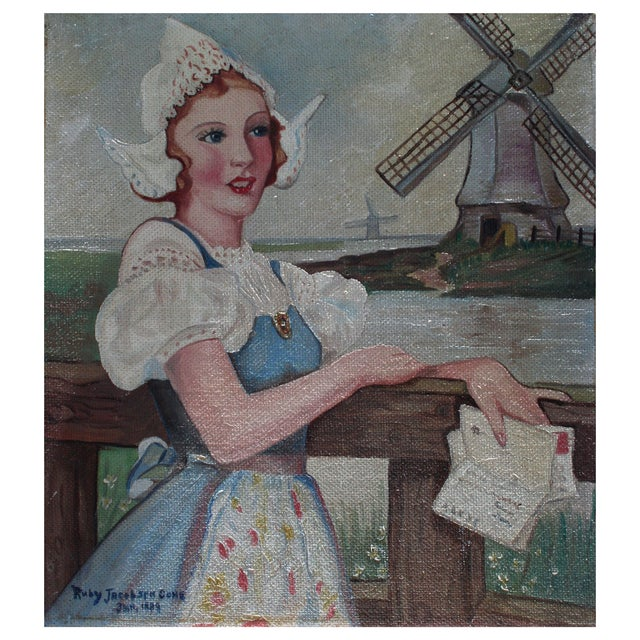 Maiden of Holland, 1939 - Image 1 of 2