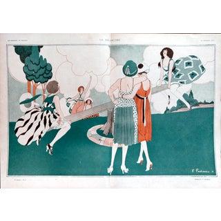"Fabiano 1917 ""La Balancoire"" Print"