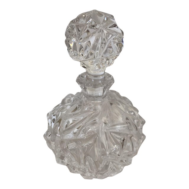 Image of Tiffany & Co. Hand Cut Glass Decanter
