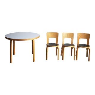 Alvar Aalto Bentwood Dining Set