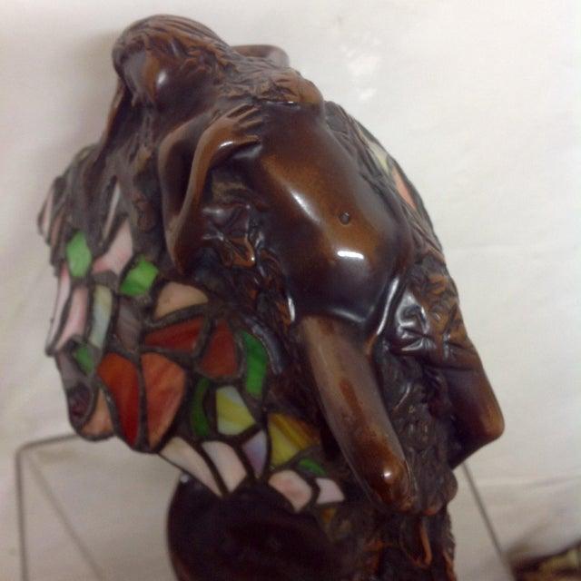 E Thomasson Art Nouveau Bronze Daphne Lamp Chairish