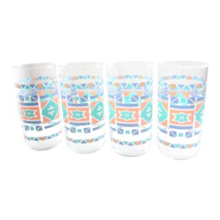 Southwestern Water Glasses - Set of 4