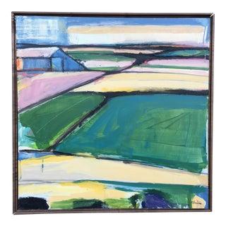 Field #3 Painitng by Heidi Lanino